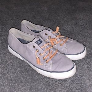 Sperry Grey Shoes